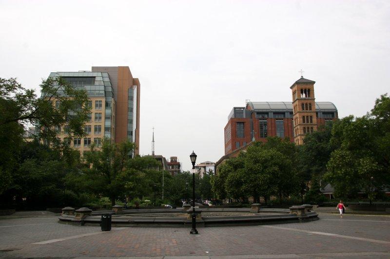 South View - NYU Student Center, Catholic Center, Law School & Judson Church