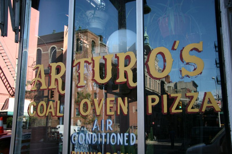 Arturos Pizza  at Thompson Street