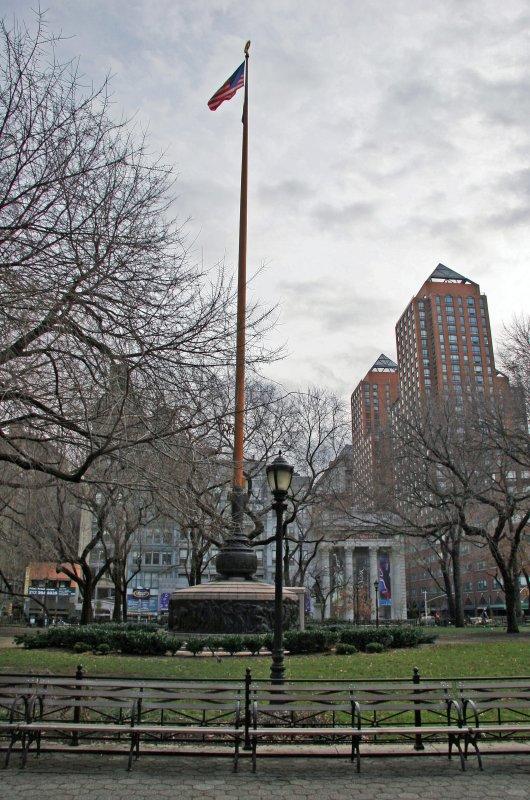 Flag Pole & Southeast Skyline