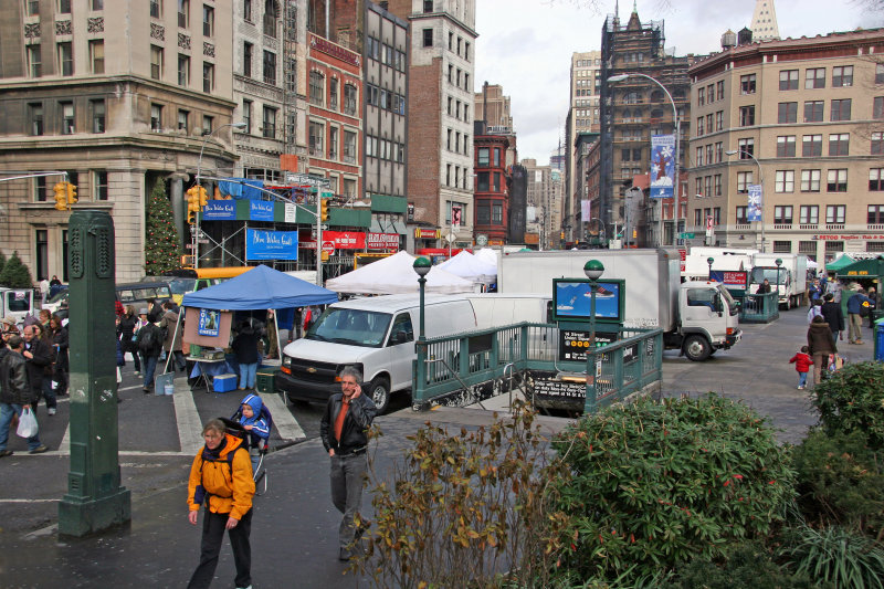 Farmers Market at Union Square West