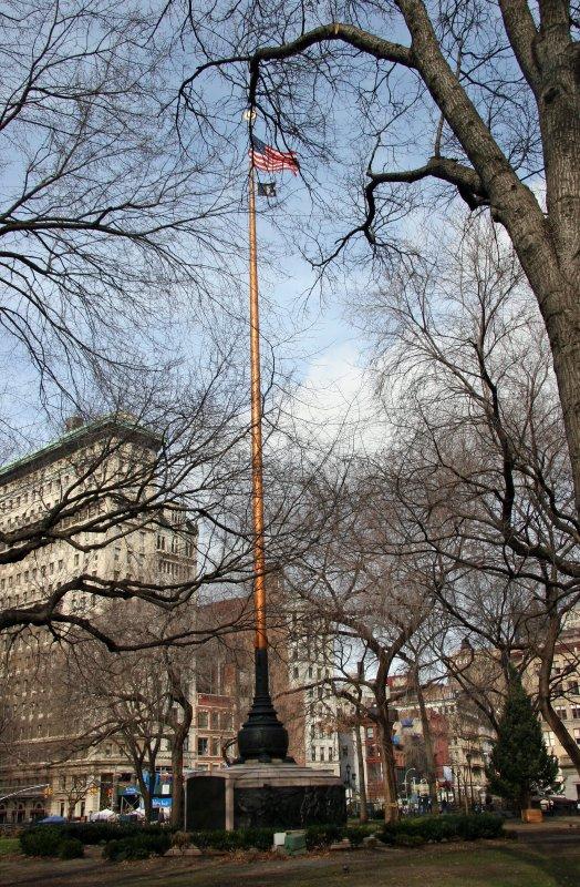 Flag Pole - Northwest Skyline View