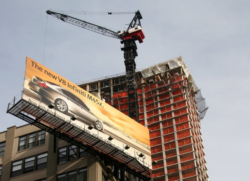 Trump SOHO Hotel/Condo Tower & Infinity Car Billboard