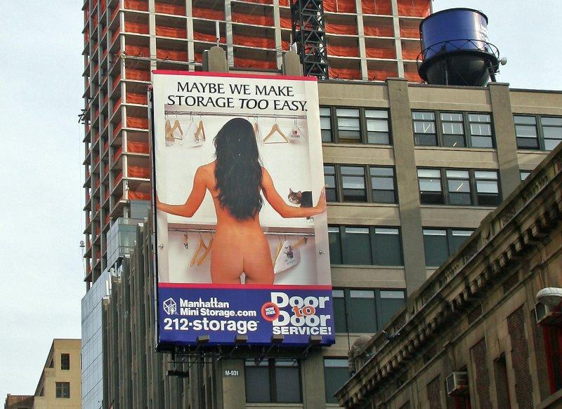 Manhattan Mini Storage Billboard