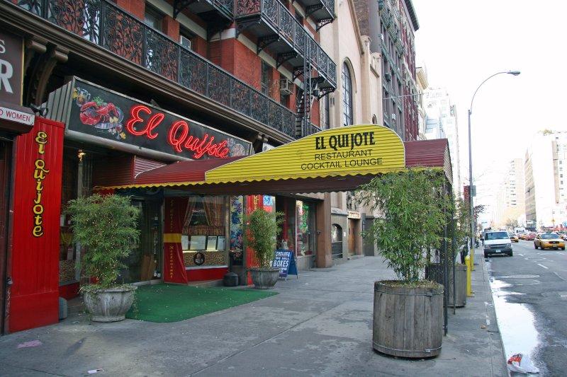 El Quixote Restaurant at the Chelsea Hotel