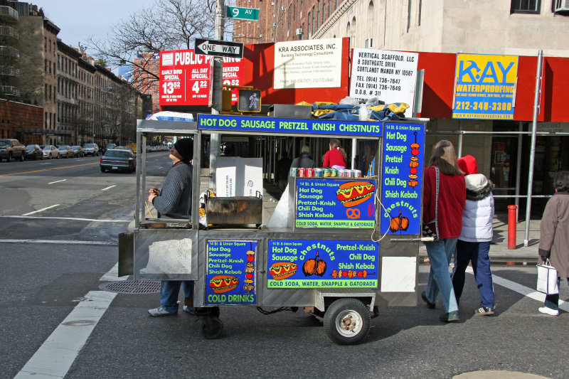 Street Food Cart Vendor
