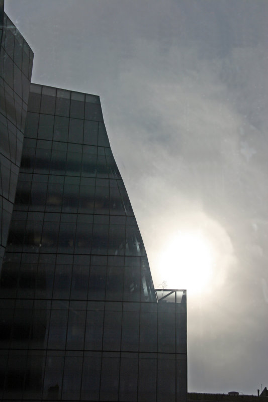IAC Building by Frank Gehry - Reflection