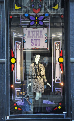 Anna Sui Fall Collection