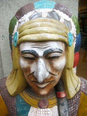 Tobacco Shop Indian Chief