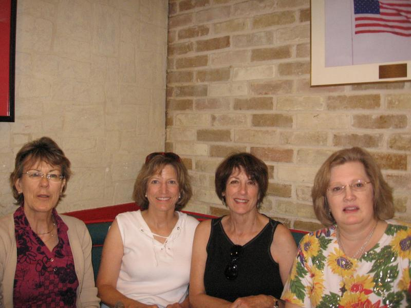 from left- Kath, lindas sister, Linda in Or., and Marilyn