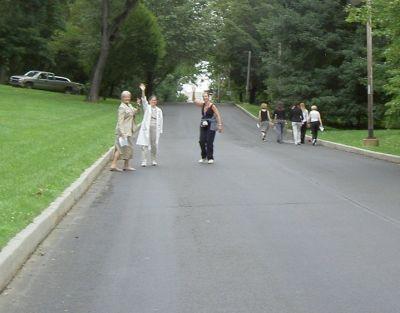 Liddy Shriver Walk at Fox Chase, Phil. Pa.