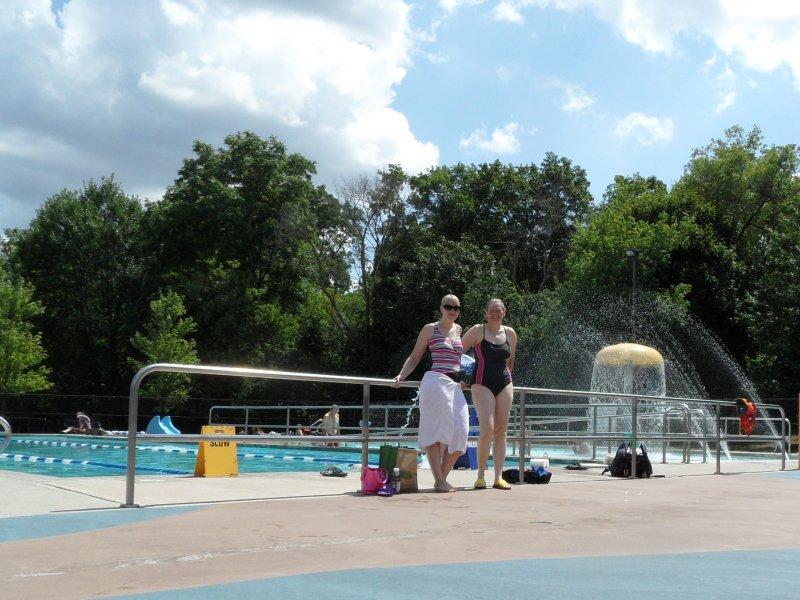 Rotary Park outdoor pool, Milton
