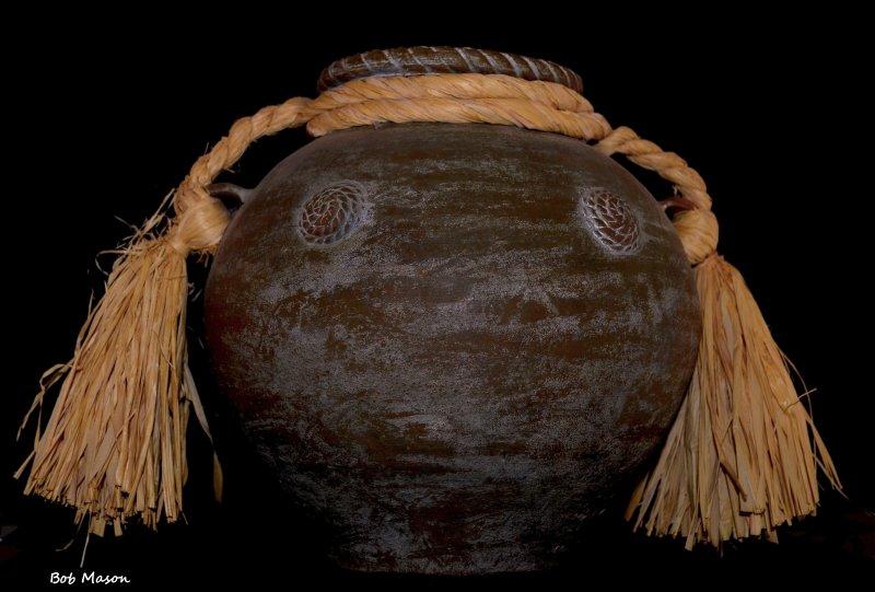 African Clay Urn..