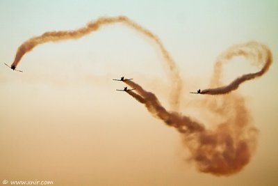 Israel Air Force Flight Academy course #162 graduation and Air Show