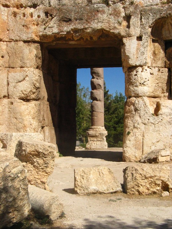 Glimpse of Baalbeck