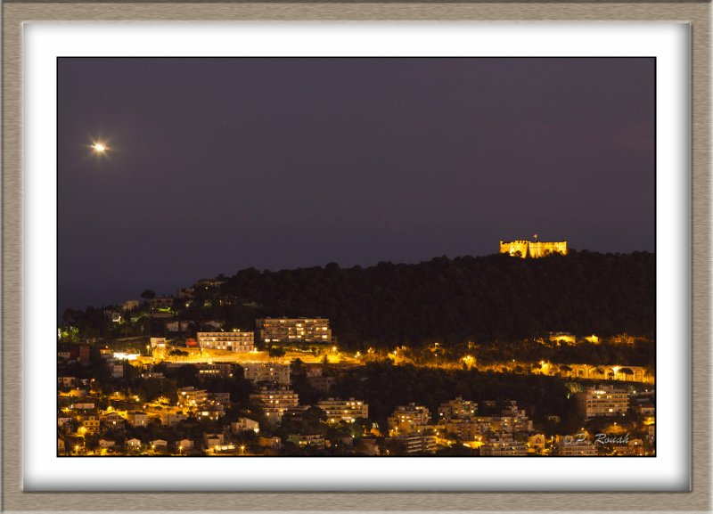 Mont Boron by night - 4647