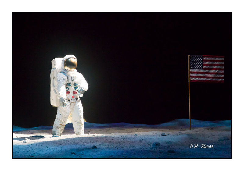 US Flag on the moon - 2881