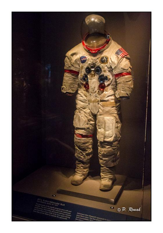Alan Shepards  Extra-Vehicular Suit - 2943