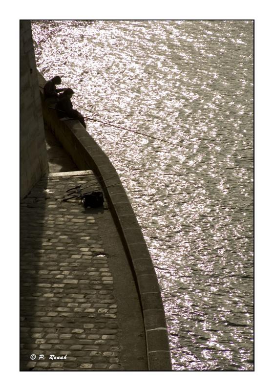 Pêcheurs sur Seine