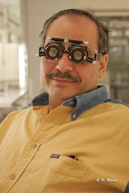 Un nouveau René à lunettes