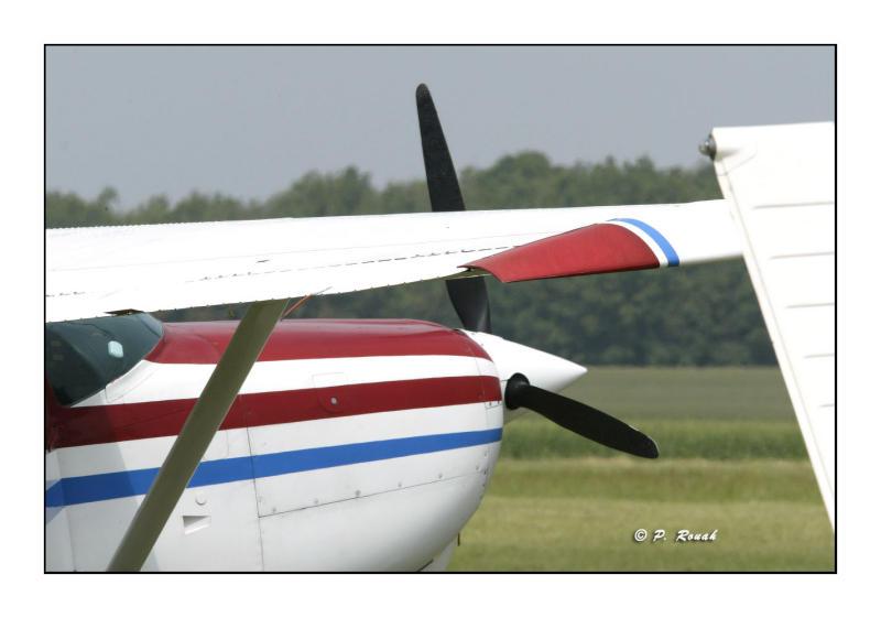 Cessna au Parking