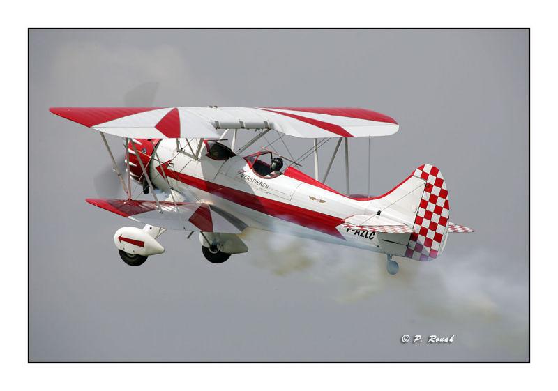 Red & White - Waco UPF-7