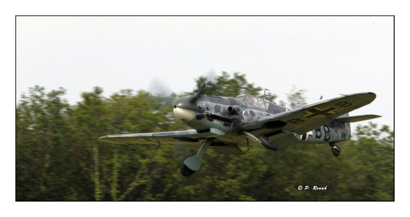 Me Bf-109G-6 gearing up