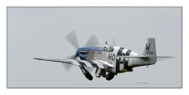 P-51C gear up