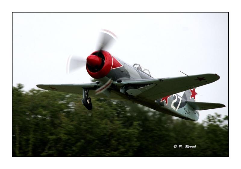 Take off Yakovlev Yak-3U