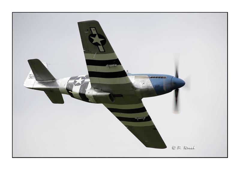 P-51C fly-by