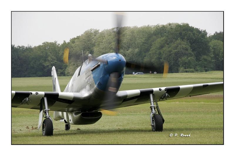P-51C at landing