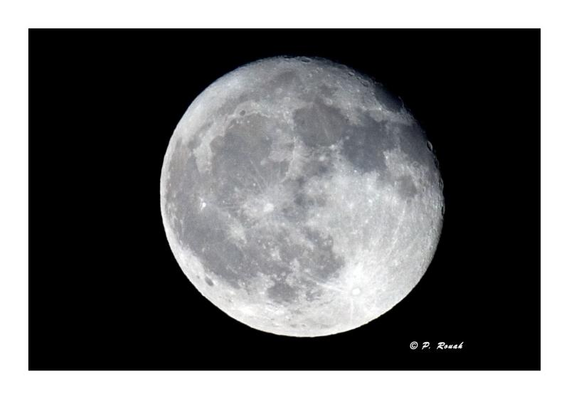 Full moon - à Bellet
