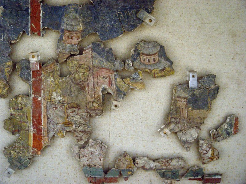 Istanbul Archaeological Museum StFrancis fresco 1498.jpg