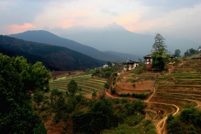 landscape-rural Bhutan