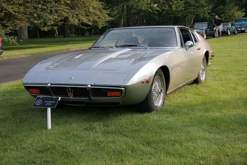 1972 Maserati Ghibli SS