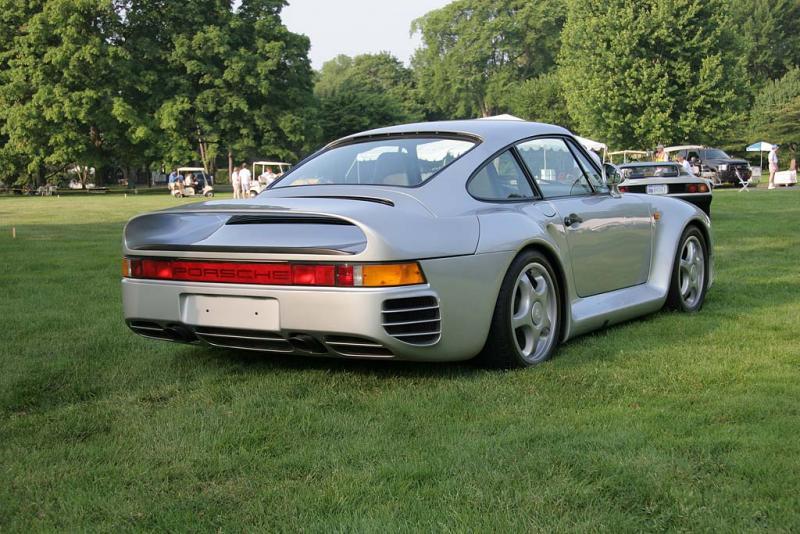 Porsche 959 Rear 3/4