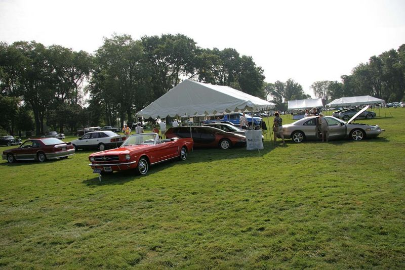 The Ford Tent