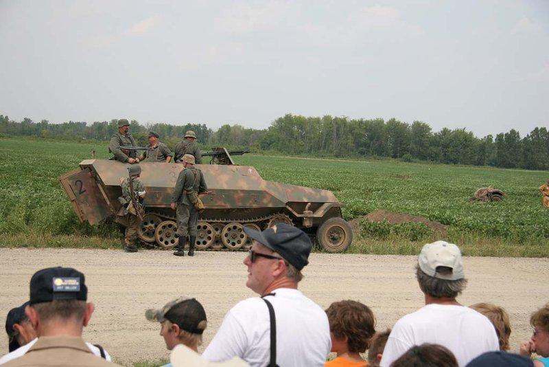 WWII Ground War re-enactment