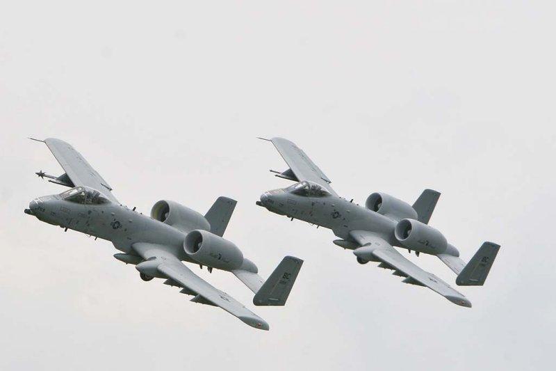 A-10 Thunderbolt II Warthogs
