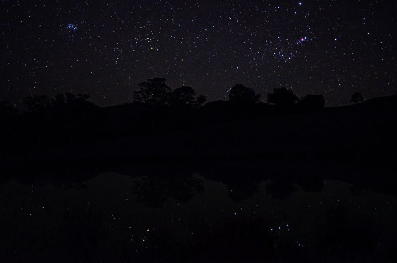 Orion Taurus Reflections