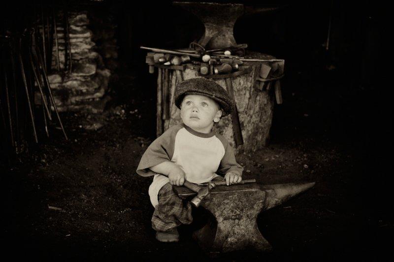 The Little Blacksmith