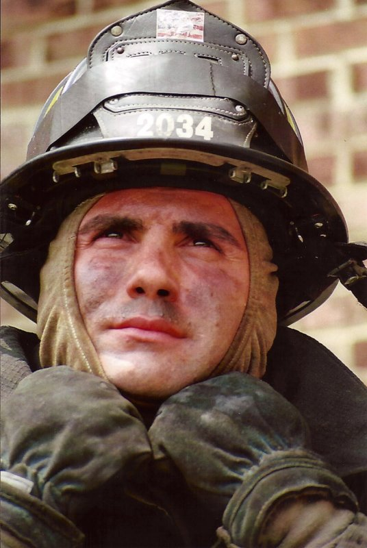 Fire Fighter image used for Ultimate Sacrifice collage