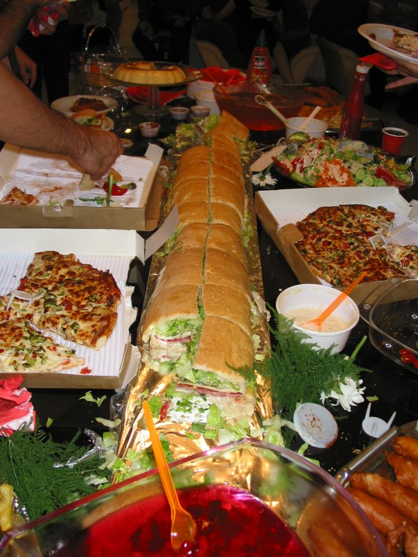 the longest sandwich i have ever seen.