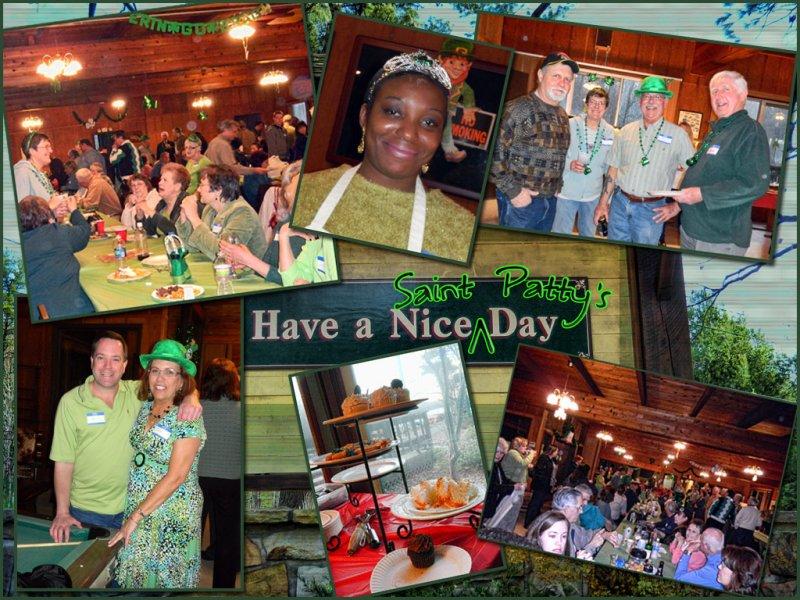 St.Patricks Day at Tink Wig