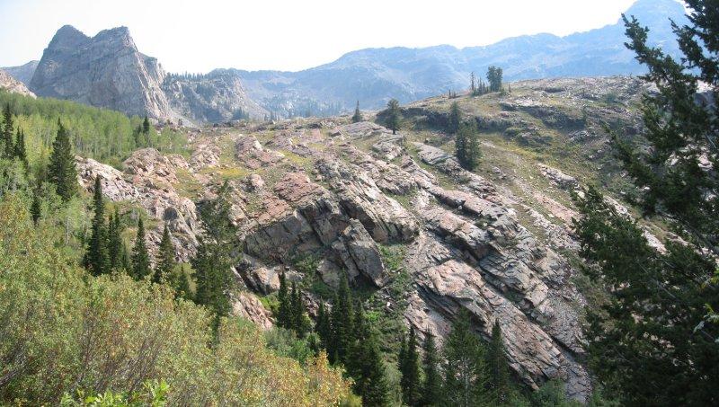 Salt Lake County hike, Sept 2007