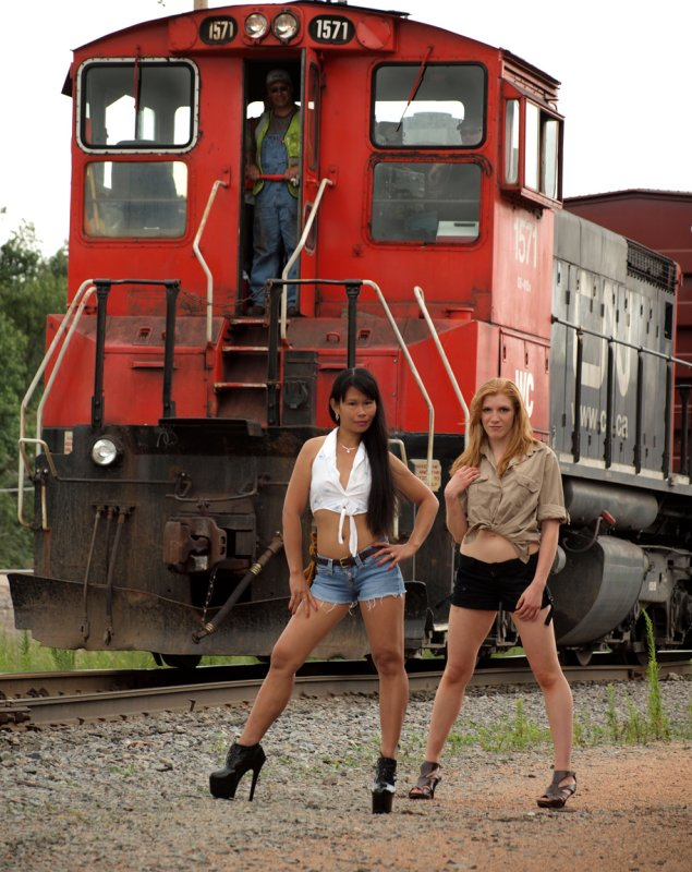 Yup...The Train Stopped Alright..!!