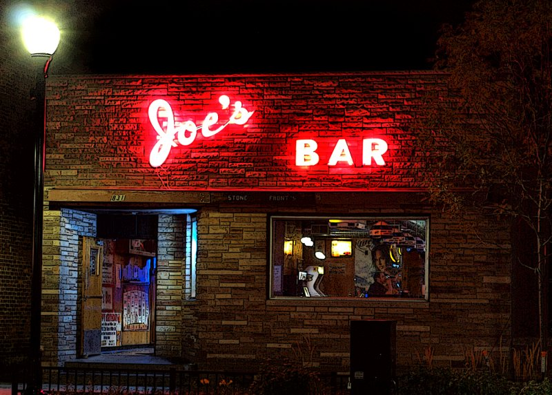 Joes Bar...The Square In Stevens Point