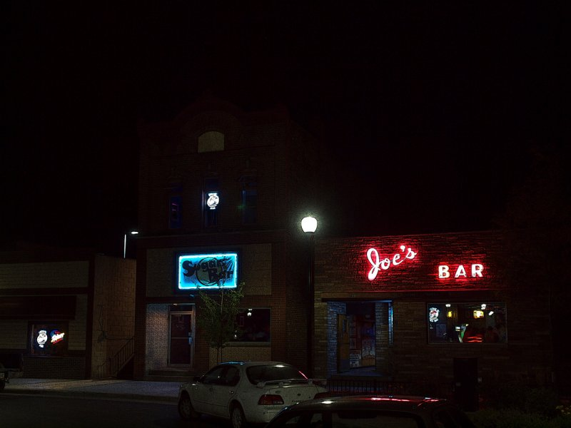 Joes Bar And The Sugar Bar.