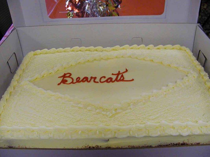 Delicious cake Elaine got at HEB.