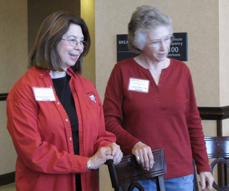 Linda Simco Cosper and Jane Hampton Hays