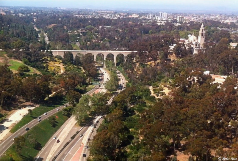 Balboa Park from the Air